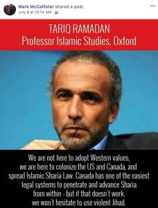 Fake Anti-Muslim Meme