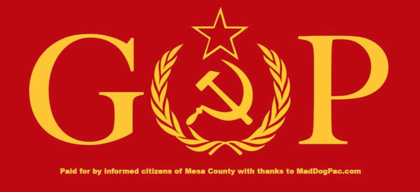 GOP & Russia Billboard image, Grand Junction Colorado