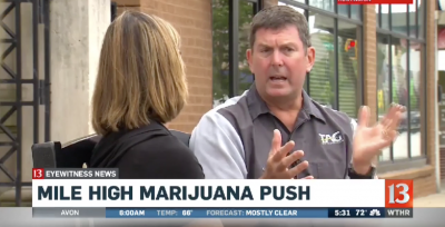 Indiana State Rep. Jim Lucas Tours Colorado Weed Industry