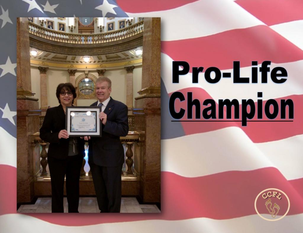 Colorado Campaign for Life Awardee Senator Tim Neville