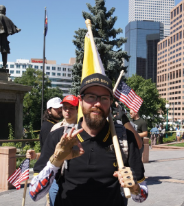 Proud Boy rally at Capitol, 9.15.18
