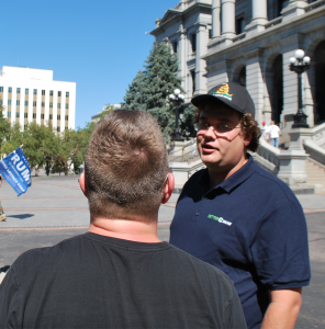 Stapleton Super PAC recruiting staff at hate group rally