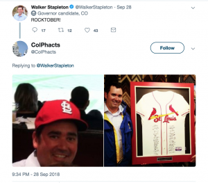 Rocktober Stapleton Cardinals fan