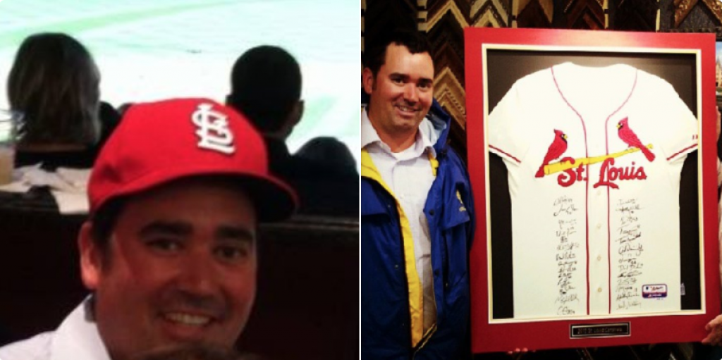 Walker Stapleton Cardinals Fan