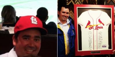 Walker Stapleton Cardinals Fan