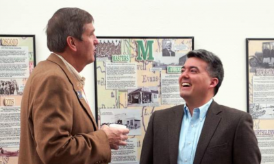 Colorado State Senator John Cooke & U. S. Senator Cory Gardner