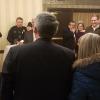 Senator Gardner photo with ADAPT disability rights activists