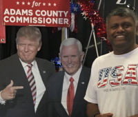 Adams County GOP Chair Anil Mathai