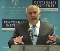 Dr. Charles Murray speaks at CCU's Centennial Institute
