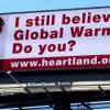 Heartland Institute climate skeptic Billboard