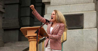State Senator Vicki Marble at the Capitol