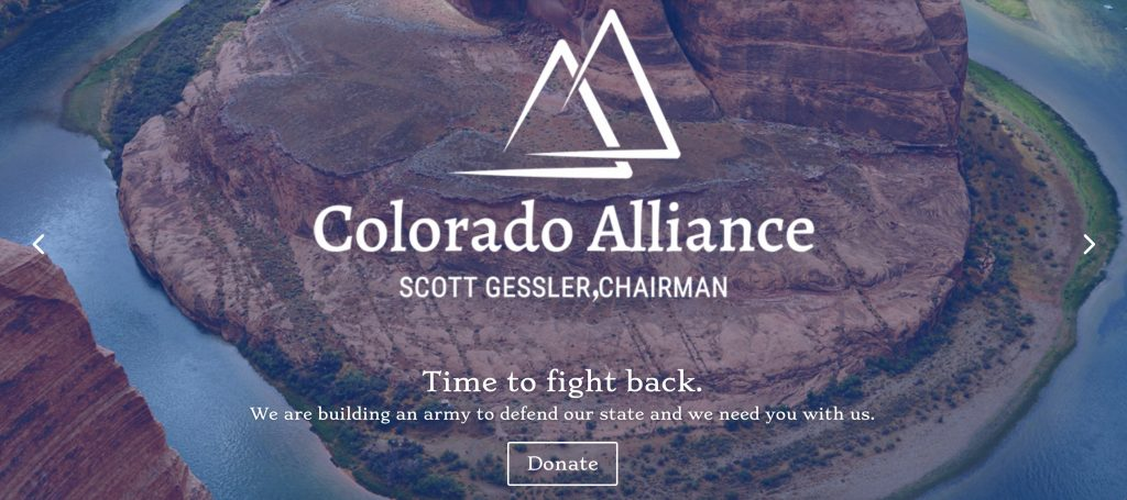 Gessler Colorado Alliance Website Banner