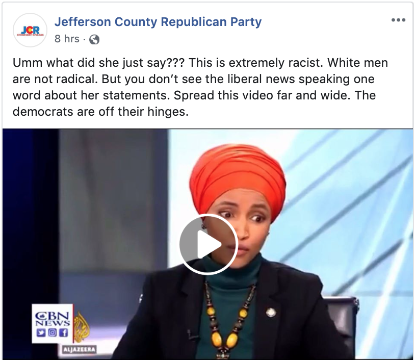 Republican Challenger to Omar is Accused of Shoplifting