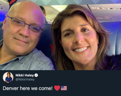 Nikki Haley in Denver to Fundraise for Cory Gardner