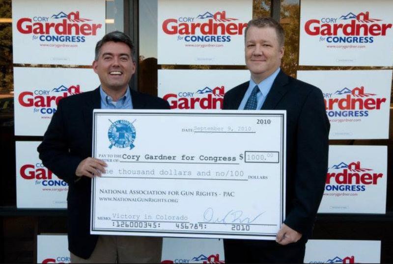 Dudley Brown & Cory Gardner
