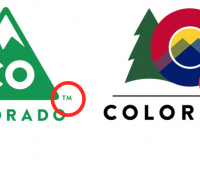 Colorado State Logo Old & New