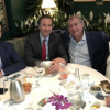 Donald Trump Jr., Tommy Hicks with Lev Parnas & Igor Fruman